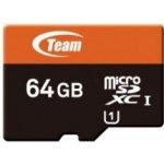 TEAM microSDXC 64GB UHS-I U1 TUSDX64GUHS03