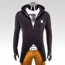 Ombre Clothing mikina Carved černá