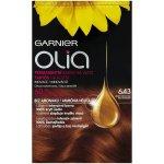 Garnier Olia 6.43 měděná tmavá barva na vlasy