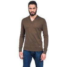 Pánský svetr Vincenzo Boretti - olivový