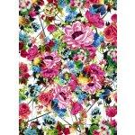 Komar 4-749 Fototapeta květiny - Romantic Pop, Rozměr 184 x 254 cm