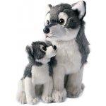 Rappa vlk s mládětem sedící 27 cm