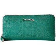 Calvin Klein Dámská peněženka Saffiano Wallet zelená 8d3765e7eb0