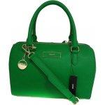 Zelená kožená kabelka DKNY