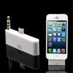 AppleKing redukce 30pin na Lightning + 3.5mm Apple iPhone 5 / 5S / SE