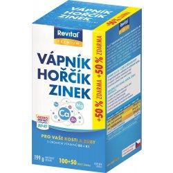 Revital Vápník+hořčík+zinek+vit. D3+K1 150 tablet