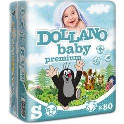 DOLLANO Baby Premium S 3 - 8 kg 80 ks Heureka.cz