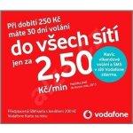 Sim karty a kupony Vodafone