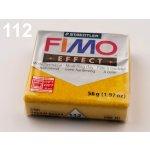 FIMO Modelovací hmota Effect metalická zlatá 56 g