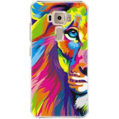 Pouzdro iSaprio Rainbow Lion - Asus ZenFone 3 ZE520KL