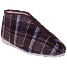 Pánské pantofle textilní bačkora 213012