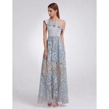 Ever Pretty dlouhé šifonové šaty bez rukávů EP08742PK růžová 41ab35481e