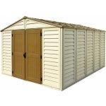 DURAMAX Zahradní domek WoodBridge Plus 13m2 + podlahová konstrukce (model 40234 -10x13´)