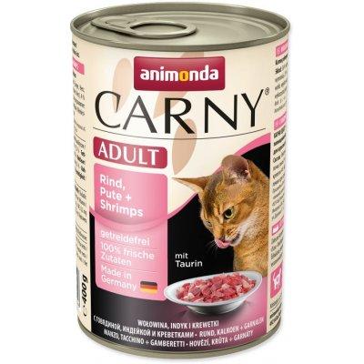 Animonda Cat Carny hovězí krůta kreveta 400 g