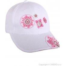 YO COMPANY Letní dětská Blumen bílá