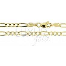 Náramek ze žlutého zlata LUXUR GOLD 3640123