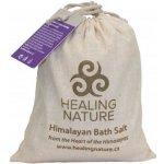 Healing Nature koupelová sůl s květem levandule 1000 g