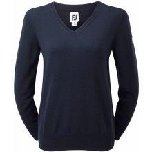 Footjoy Merino V Neck Sweater Ladies Navy
