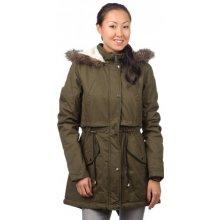 Brave Soul dámský kabát Felstead M khaki