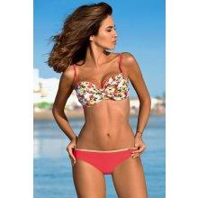 7e7bdd465 Gabbiano Marisa plavky s květinovým vzorem lososová