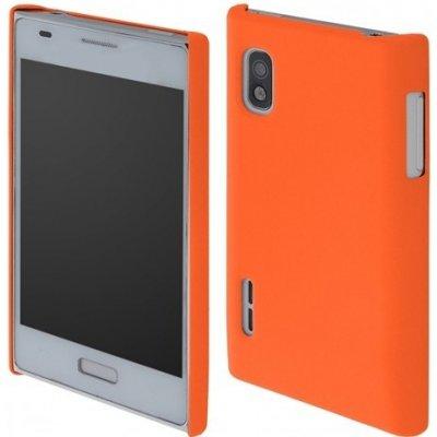 Pouzdro Coby Exclusive LG E610 Optimus L5 oranžové