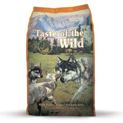 Taste of the Wild High Prairie Puppy 3x 12,2 kg