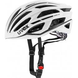 Přilba, helma, kokoska Uvex RACE 5 WHITE 2017
