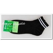 6ffa260c3a0 Pesail pánské bambusové zdravotní kotníkové ponožky černé