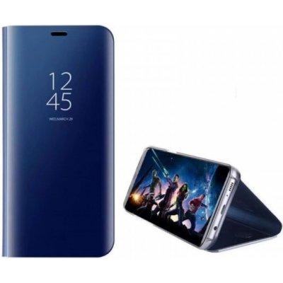Pouzdro SES Zrdcadlové plastové flip Honor 9X - modré