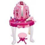 MARIO Dětský toaletní stolek se židličkou Růžová