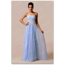 788a6cfba2a5 Grace Karin luxusní plesové šaty dlouhé 6107-3 modrá