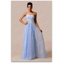 Grace Karin luxusní plesové šaty dlouhé 6107-3 modrá od 1 765 Kč ... 0843fb03c2