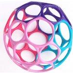 Bright starts Oball kousátko balonek originál růžovo fialová