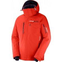 Salomon Brilliant jacket Fiery red C10023 nepromokavá zimní bunda 3efec04691c