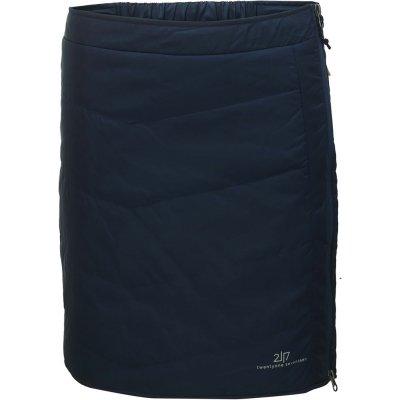 Klinga dámská krátká prošívaná sukně 2117 tmavě modrá