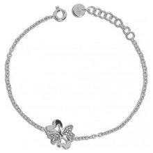 Náramek stříbrný Preciosa Vogue White 5148 00