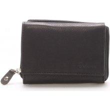 Kožená černá peněženka Delami 8230 černá