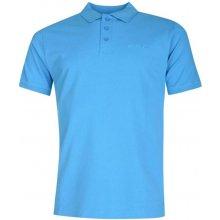 Pierre Cardin Plain Polo Shirt Mens Blue