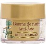 Le Petit Olivier Regenerační noční balzám s arganovým olejem 50 ml