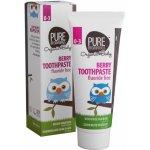 Pure Beginnings zubní pasta pro miminka bez fluoridů malinová příchuť 75 ml
