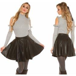 Koucla dámská koženková plisovaná sukně černá alternativy - Heureka.cz cc546ca928