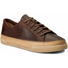 CLARKS Hidi Holly 261267764 Dark Tan Leather