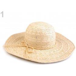 Dámský klobouk   slamák 1 režná světlá 56c2fef846