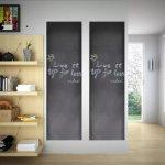 Meedo Nalepovací tabule na stěnu, 2 role 0,6 x 3 m + křídy