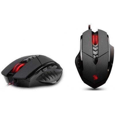 A4tech BLOODY V7 Ultra Core3 s kovovýma nožičkama, herní myš, až 3200DPI, HoleLess technologie, 160KB paměť, USB