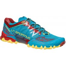 La Sportiva Bushido Men Tropical Blue/Cardinal Red