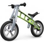 First Bike Street s brzdou + zvonek zelené