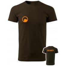 Tričko Black Mesa SECURITY Force hnědá