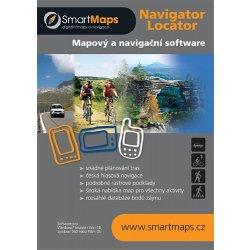 SmartMaps Locator: Podrobná mapa ČR 1:10.000