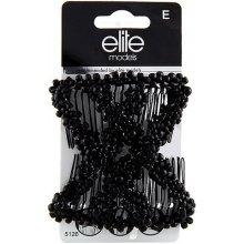 5b012de9f20 149 Kč Apollo store · Spona s hřebínky Elite Models černá
